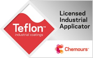 Crest Coating is a Teflon Licensed Industrial Applicator - certified to apply Teflon coatings.