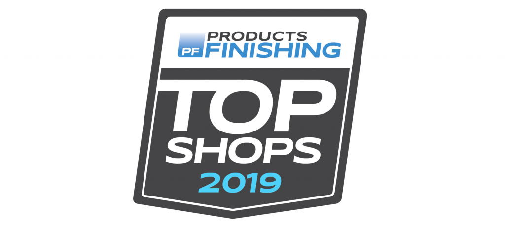 Top Shop for Crest by Products Finishing magazine